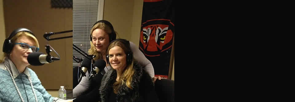 The Genuine Pearl Girls on 97.7 the Peach