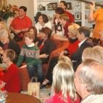 Edie Hand Holiday Special engaging friends and children along with Nashville Stars.