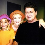 """Edie with her niece Kayla Ross and her brother Terry Blackburn who was the influence for the book, """"The Last Christmas Ride."""""""