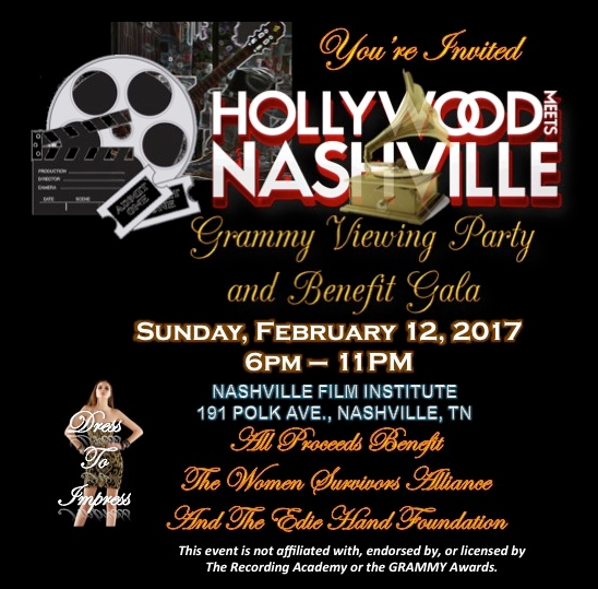 Hollywood Meets Nashville-Benefits Edie Hand Foundation