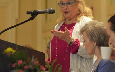 Edie Hand Speaking at Vestavia Hills Prayer Breakfast