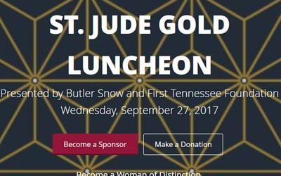 Join Edie Hand at the St. Jude Gold Luncheon