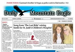 Daily Mountain Eagle Highlights Edie Hand & Victoria Renée