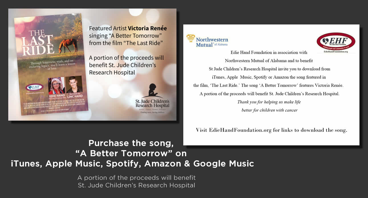 """A Better Tomorrow"""" Sung by Victoria Renée Debuts on iTunes"""
