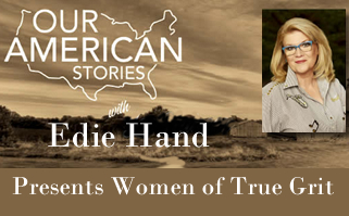 Edie Hand Sharing Her Stories on Our American Stories
