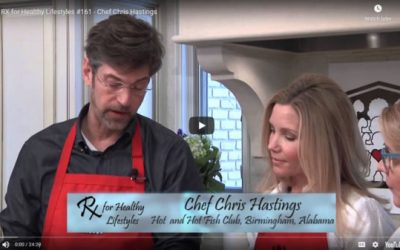 Chef Chris Hastings With Christy Swaid